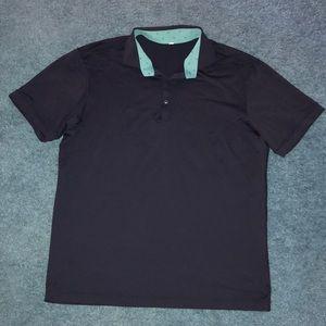 Lululemon Polo Shirt Size XL Dark Blue